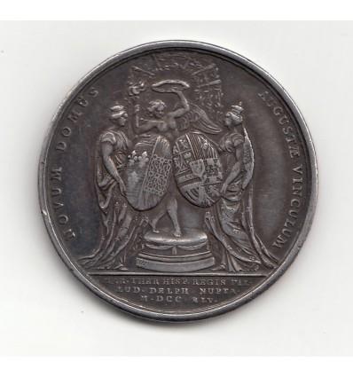 Louis XV mariage du dauphin avec Marie-Thérèse d'Espagne 1745