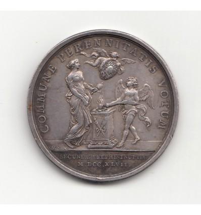 Louis XV second mariage du dauphin avec Marie-Josèphe de Pologne 1747