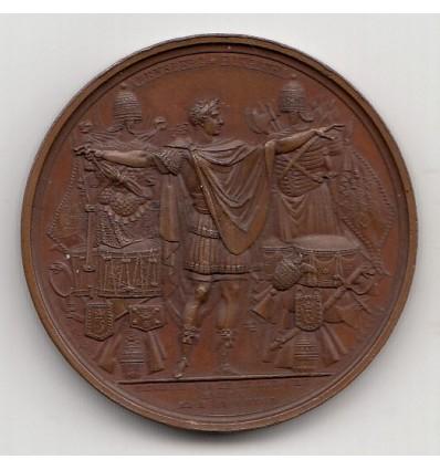 Napoléon I traité de Persbourg rompu par l'Autriche 1809