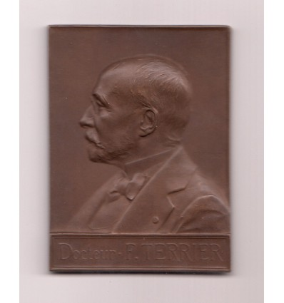 Hommage au Dr F. Terrier, Hôpital Bichat par Vernon 1899