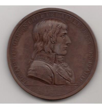 Bonaparte Paix de Campo Formio avec l'Autriche 1797