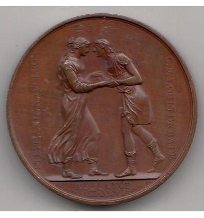 Napoléon I mariage du prince de Bade et de stéphanie de Beauharnais 1806