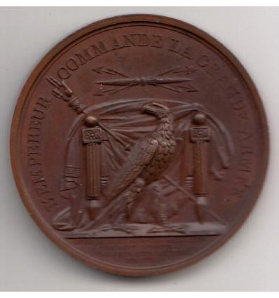 Napoléon I levée du camp de Boulogne et passage du Rhin 1805