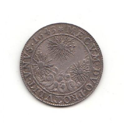 Jeton Anne d'Autriche 1643