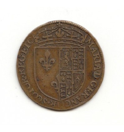 Jeton Marie Stuart, reine de France 1560