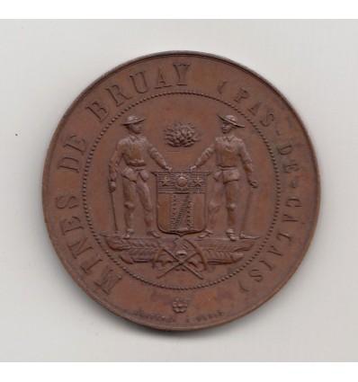 Visite du président Carnot aux mines de Bruay 1899