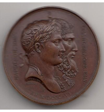Napoléon I alliance avec la Saxe 1806