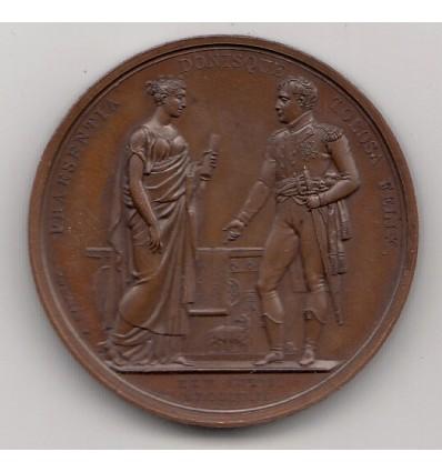 Napoléon I visite à Toulouse 1808