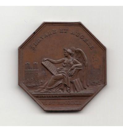Jeton académie de Reims 1841