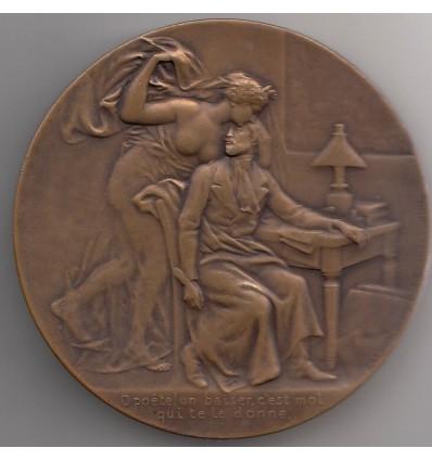 Hommage à Alfred de Musset par Pierre Lenoir s.d.