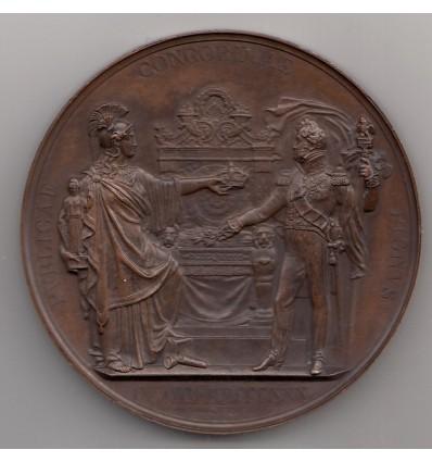 Avènement de Louis-Philippe par Depaulis 1830