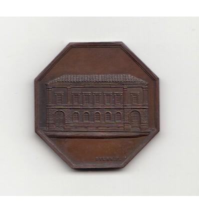 Jeton Distillerie agricole 1862