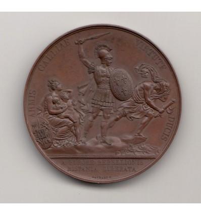Louis XVIII restauration du trône d'Espagne s.d.