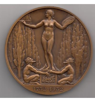 Hommage à Jean Honoré Fragonard par Bazor 1932