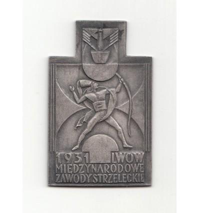 Pologne concours international de Tir à Lwow 1931