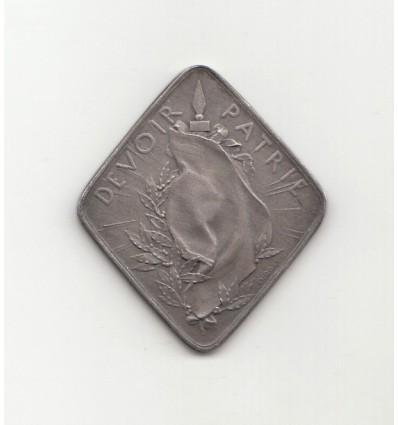 Guerre de 14-18, Devoir-Patrie par Roty 1910