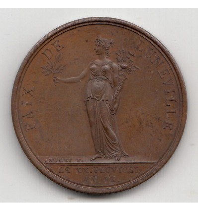 Napoléon I paix de Lunéville 1801