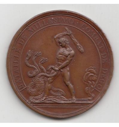 Napoléon Bonaparte bataille de Millesimo 1796