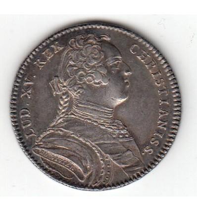 Jeton Louis XV clergé de Rouen s.d.