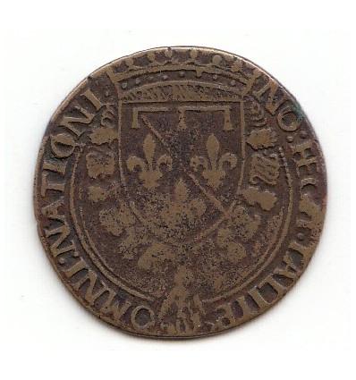 Jeton Louis d'Orléans 2 ème duc de Longueville s.d.