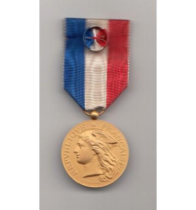 Ministère de l'Intérieur, médaille d'or, épidémies 1912