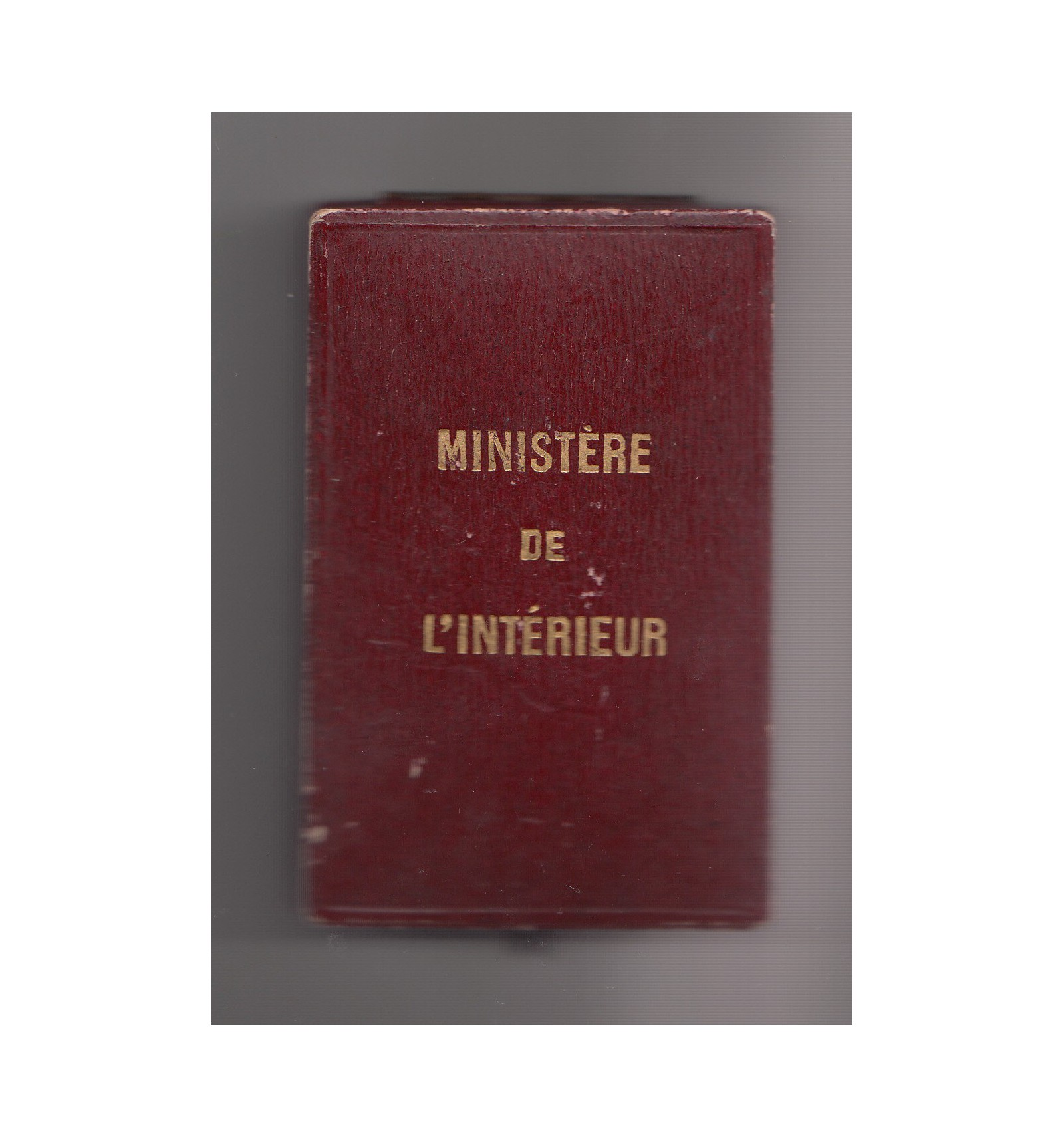 Minist re de l 39 int rieur m daille d 39 or pid mies 1912 for Minister de l interieur
