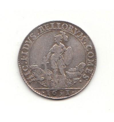 Jeton Louis XIII extraordinaire des guerres 1631