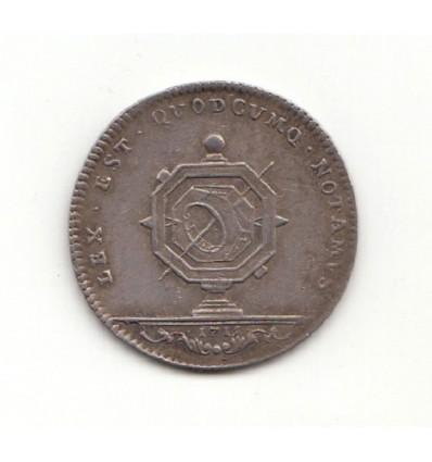 Jeton notaires royaux de Lyon 1715
