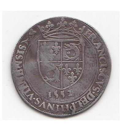 Jeton François II pour le Dauphiné 1552