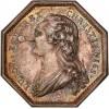 Jeton Louis XVI mines et forges de Bourgogne s.d.