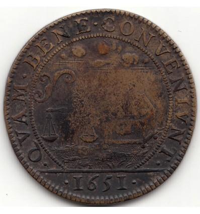 Jeton Louis XIV conseil du roi 1651