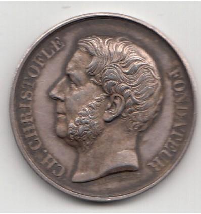 Jeton Orfèvrerie Christofle 1842