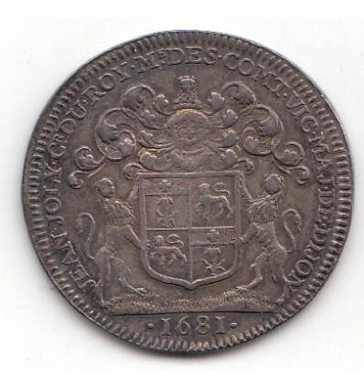 Jeton René Joly maire de Dijon 1681