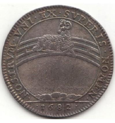 Jeton Etats de Bourgogne 1682