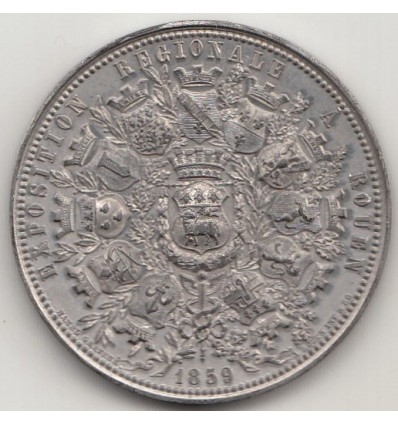 Napoléon III exposition régionale à Rouen 1859