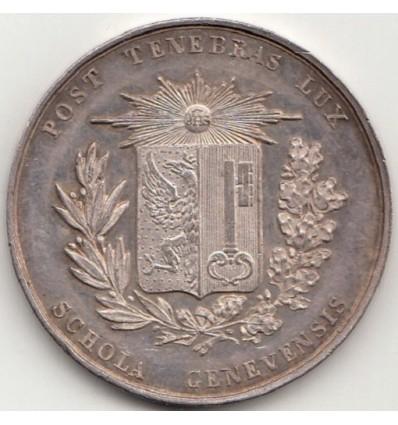 Suisse médaille Schola Genevensis s.d.