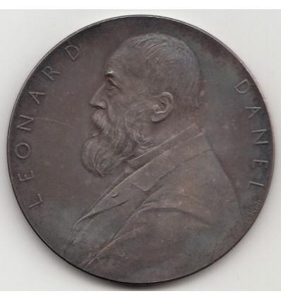 Médaille bicentenaire de l'imprimerie Léonard Danel par Roty 1898