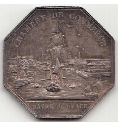 Jeton Charles X chambre de commerce du Havre s.d.