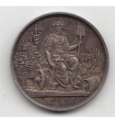 Jeton Napoléon III marché de la Madeleine à Paris s.d.