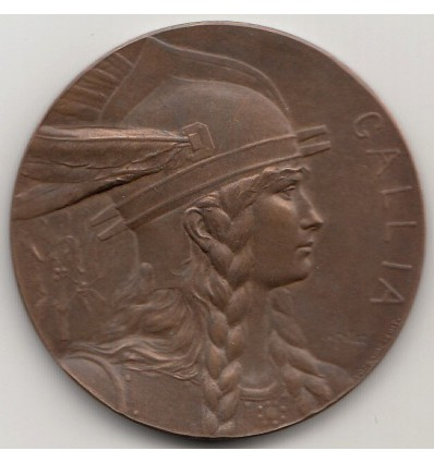 Médaille Gallia par Charles Pillet s.d.