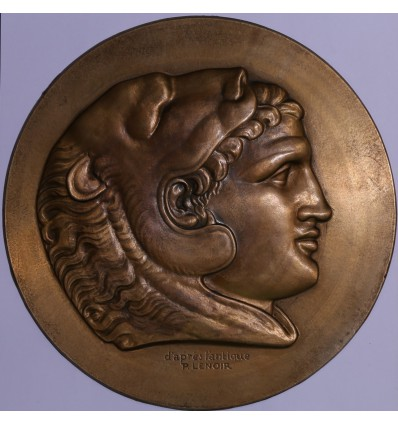 Portrait d'Alexandre le grand, d'après l'antique par Pierre Lenoir s.d.