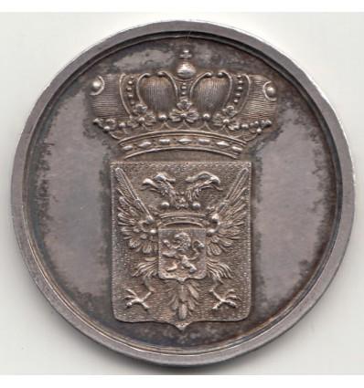 Pays-Bas, royaume de Hollande, Louis-Napoléon, médaille Kiezers-penning Rijnland s.d.