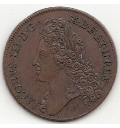 Grande-Bretagne, jeton James III et Princesse Louisa s.d. ( 1712 )