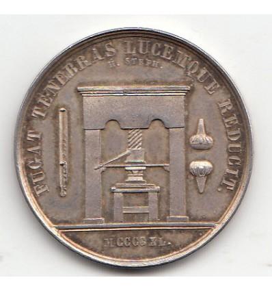Jeton association des imprimeurs de Paris 1840