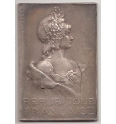République Française, buste de Marianne par Vernier 1902