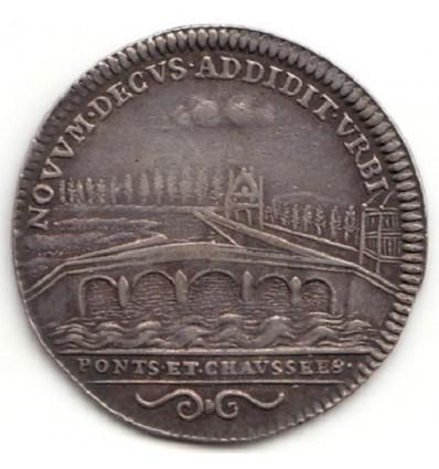 Jeton Louis XV Ponts et Chaussées s.d.