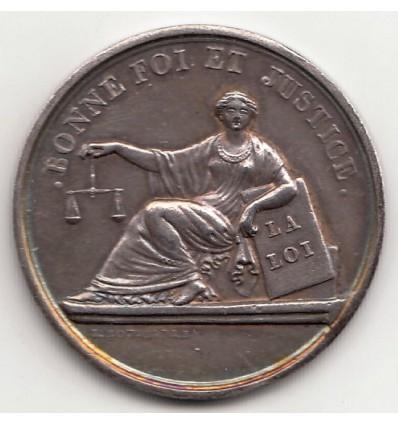 Jeton Tribunal de commerce de Lyon 1835