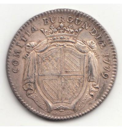 Jeton Louis XVI Etats de Bourgogne 1776