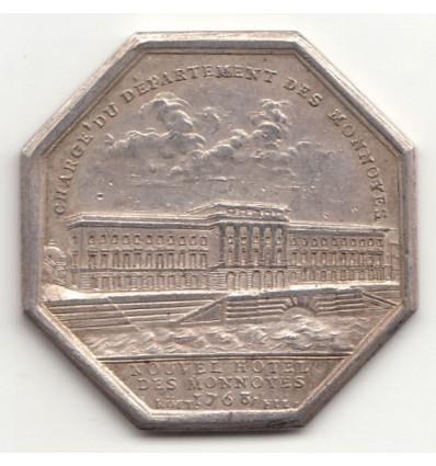 Jeton Hôtel des monnaies de Paris 1768