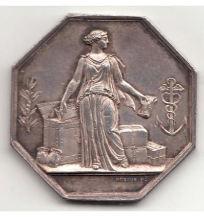 Jeton Banque de Marseille 1836